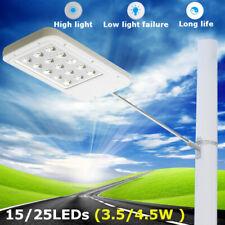 15Led 25LED Solar Sensor Wall Street Light Outdoor Garden Path Lamp Waterproof