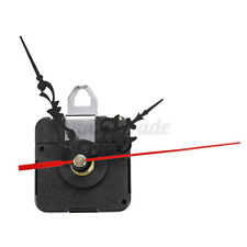 DIY Quartz Reverse Backwards Clock Movement Mechanism Motor Black Floal  NEW
