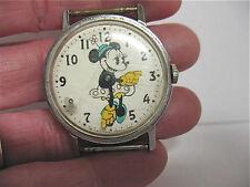Vintage Wristwatch Parts/Repair - Walt Disney Productions - Minnie Mouse