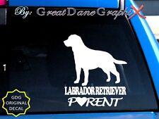 Labrador Retriever PARENT(S) #1 - Vinyl Decal Sticker /Color Choice-HIGH QUALITY