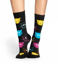 Happy Socks - Socken - cat sock, Katzen - schwarz / bunt - 36-40 + 41-46