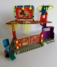 Crash Test Dummies Junkyard Play Set Tyco 1991 Used Retro Not Complete