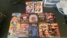 12 comedy dvds-shows-movies-crank yankers-jackass-family guy-(lot-sets