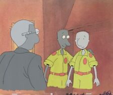 Doug Funnie Original Production Cel Cell Animation 90s Nickelodeon Baseball Team