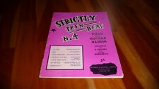 STRICTLY TEEN BEAT 4 BEATLES ROLLING STONES ORIGINAL UK 1965 SONGBOOK