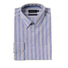 Camicie classiche da uomo manica lunghi cotone a righe