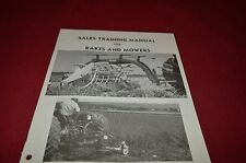 New Holland Rakes & Mowers For 1975 Sale Training Manual Manual DCPA5