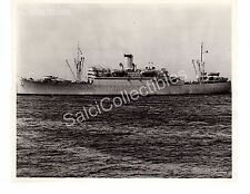 US Navy Troop Carrier Transport Ship Wharton AP-7 Oficial Photo 8x10