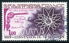 STAMP / TIMBRE FRANCE OBLITERE N° 1844 CONVENTION DU METRE