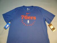 Nike Philadelphia 76ers Practice Basketball BRAND NEW shirt NBA Philly Sixers