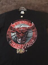 Chicago Bulls New w/Tag 1998 Tour NBA Champions T-Shirt - Last Dance!