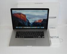 "Apple Macbook Pro 15"" 15.4 Retina i7 2.3GHZ / 16GB Ram / 2TB SSD / New Battery"