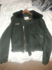 """1981 Royal Canadian Air Force Flight Bomber Jacket The Big 2 """"Best in the West"""""""