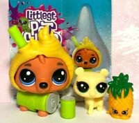 Littlest Pet Shop BROWN BEAR LPS #4-151 Thirsty Pets MINI BABY Costume OOP Lot