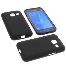 Funda para Samsung Galaxy J1 MINI Funda protectora de móvil TPU GOMA FUNDA NEGRA