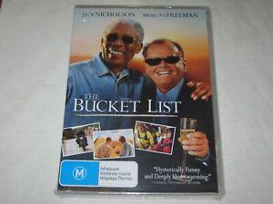 The Bucket List - Morgan Freeman - Brand New & Sealed - Region 4 - DVD