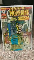 WHAT IF 7 - WOLVERINE 18 - WHAT THE 6 - LOT OF 3 MARVEL BOOKS..VF+ TO NM..HIGH G