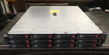 HP StorageWorks D2600 18TB (6x 3TB) Hard Drive 12xLFF Bay Enclosure Rails AJ940A