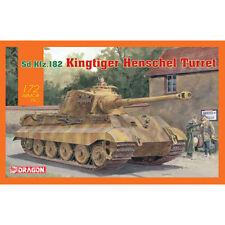 Dragon 7558 KING TIGER HENSCHEL TORRETTA 1:72 TANK MODEL KIT
