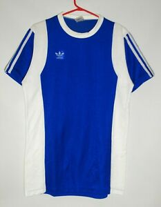 ADIDAS ERIMA VINTAGE 70-S MADE IN WEST GERMANY FOOTBALL SHIRT SOCCER JERSEY SIZE
