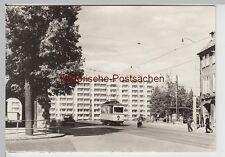 (86657) Foto AK Nordhausen, Rautenstraße mit Wohnscheibe I, 1972