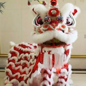 Traditional Lion Dance Costume for Adults Chinese Foshan Lion Dance Equipments