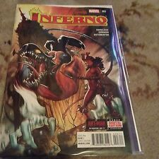 Inferno Issue #3 Marvel Comics Secret Wars - Like Near Mint Condition 2015
