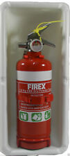 WHITE Fire Extinguisher Box Caravan Motorhome 1KG Accessories Boat CAMPER PARTS