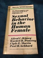 Sexual Behavior in the Human Female Alfred C Kinsey Pocket Books Paperback book