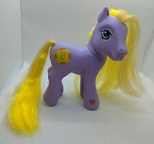 My Little Pony G3 Garden Glade Spring Easter Basket Purple/Yellow
