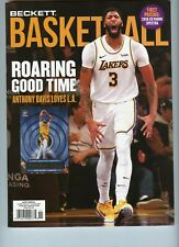 NEW CURRENT BECKETT BASKETBALL PRICE GUIDE MAGAZINE NOVEMBER 2020, ANTHONY DAVIS