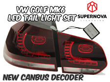 VW Golf MK6 2009-2012 – LED Tail Lights- Aus Free Postage-TSI/GTI/TDI/GTD