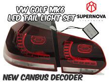 VW Golf MK6 2009-2012 – LED Tail Lights- Aus Free Postage-TSI/GTI/TDI/GTD