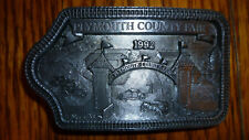 Buckle 1992 Limited Edition . Nice Plymouth County Fair (Iowa) Collectible Belt