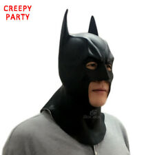 Halloween Batman Masks Adult Full Face Realistic Latex For Party Caretas Movie