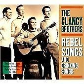 CLANCY BROTHERS & TOMMY MAKEM - REBEL SONGS & DRINKING SONGS - 2CD (FREE POST)