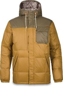 Dakine Fremont II Down Insulated Layering Jacket Men's Large Buckskin/Capers New