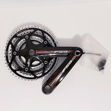 FSA Carbon Pro Team Issue Crankset 170mm Triple 52/42 42/30 30t USED No BB