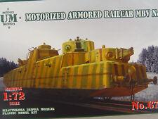 Panzerdraisine MBV No.1 - UM Schienenfahrzeug Bausatz 1:72 - 673   #E