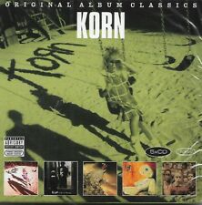 KORN - Original Album Classics - 5CDset - Epic - 88843066072 - Rock - Metal - EU