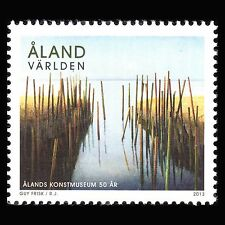 "Aland 2013 - Paintings ""The 50th Anniv of Aaland Art Museum"" - Sc 338 MNH"