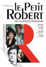 Le Petit Robert Langue Francaise Dictionnaire 2016: Monolingual French Dictionar