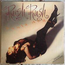 "PAULA ABDUL,RUSH RUSH,VINTAGE LTD PICTURE VYNIL 12"" 45 RPM,EXCELLENT CONDITION"