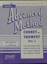 Rubank Advanced Method - Cornet or Trumpet Vol. 1 (Rubank Educational Library)
