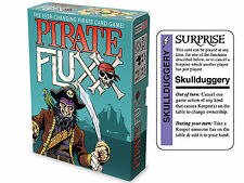 Pirate Fluxx w/ Skullduggery Promo Postcard Ever Changing Card Game Looney Labs