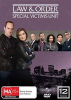 Law And Order SVU - Special Victims Unit : Season 12 DVD : NEW