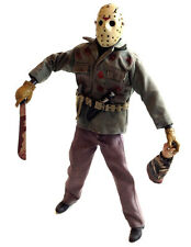 "Sideshow JASON Friday 13th 12"" 1/6th  horror movie collector figure NOT BOXED"