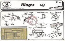 Royal Model 1/35 Various Hinges / Mechanical Bearings [PE Diorama Accessory] 036
