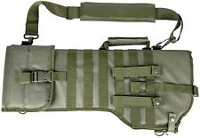 Deluxe MOLLE Shoulder Sling Tactical 556 Rifle Scabbard Case Green NCStar VISM