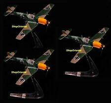 BANDAI WING CLUB WW2 GERMAN Fighter 1:144 Messerschmitt BF-109 ME-109 E7 WC_E7x3